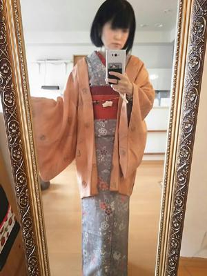 kimonoコーデ